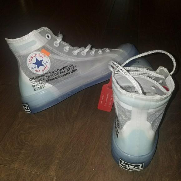 06f1162e0db1 Virgil Abloh Off-White Converse Chuck Taylor